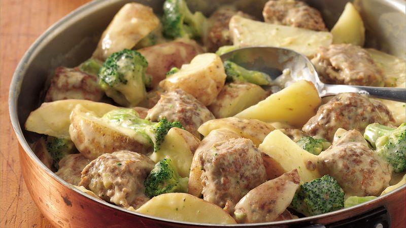 Тефтели в мультиварке с картошкой: варианты приготовления