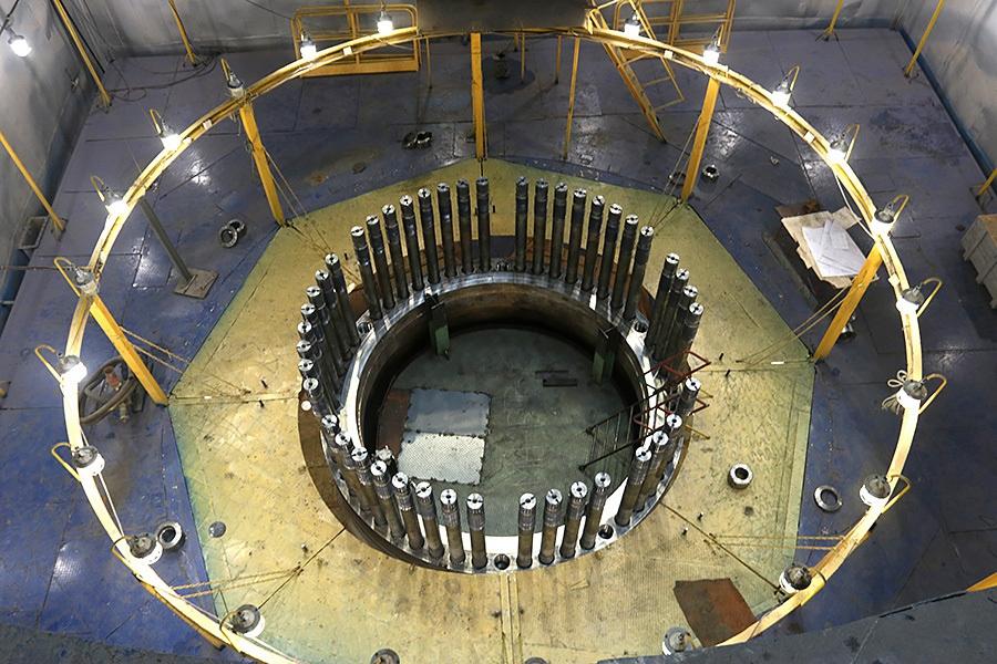 как выглядит ядерный реактор внутри фото