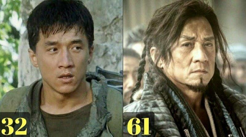 Как менялся Джеки Чан за свою карьеру в кино
