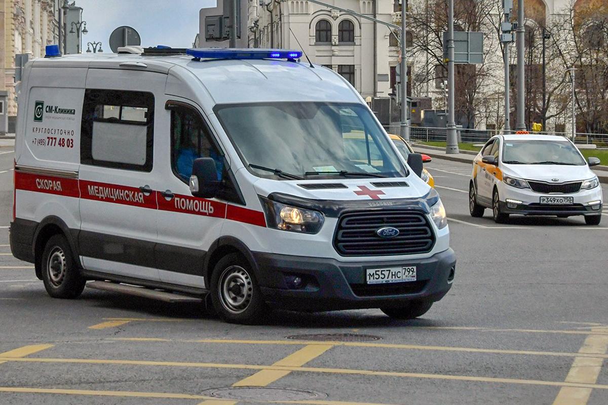 В Москве за сутки госпитализировали рекордное число пациентов с COVID-19
