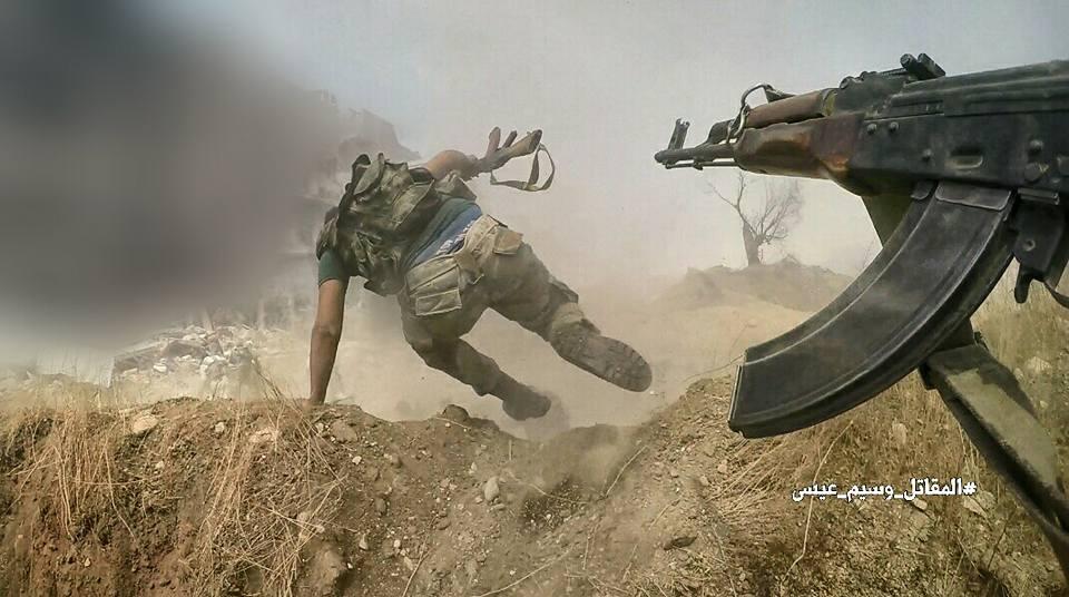 Кровавый провал в Сирии: боевики из России пошли на прорыв и были уничтожены (ФОТО 18+)