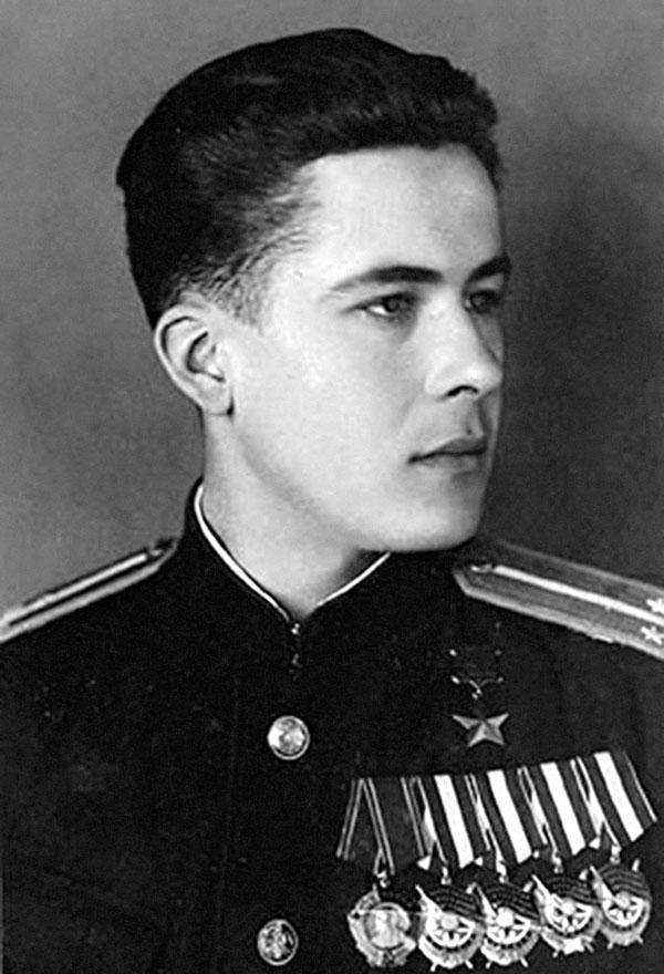 Герой Советского Союза Михаил  Владимирович  Борисов