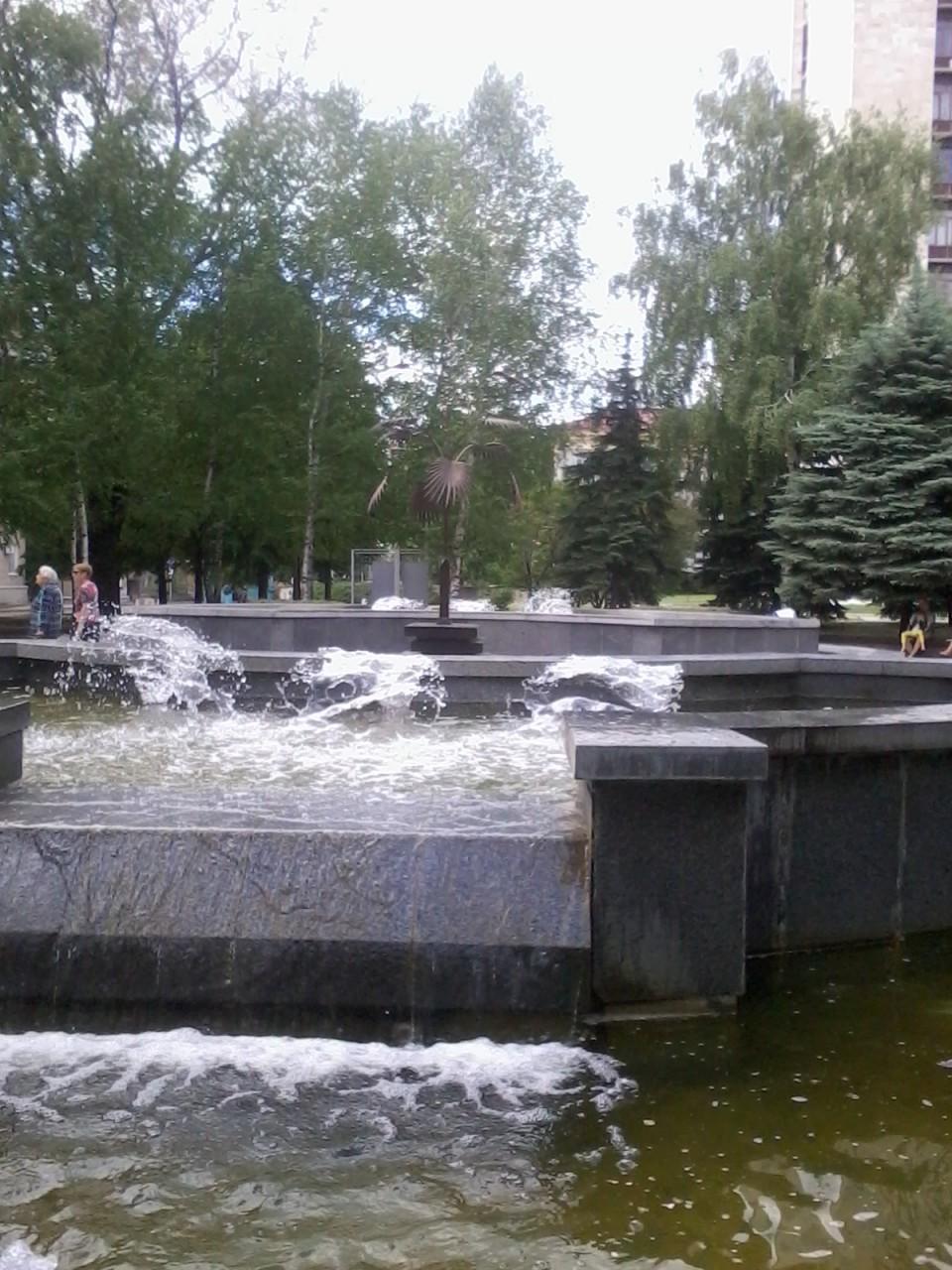 Донецк – конец июля, «водные процедуры», лето продолжается