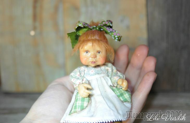 Маленькая мама - авторские игрушки Лилии Василик