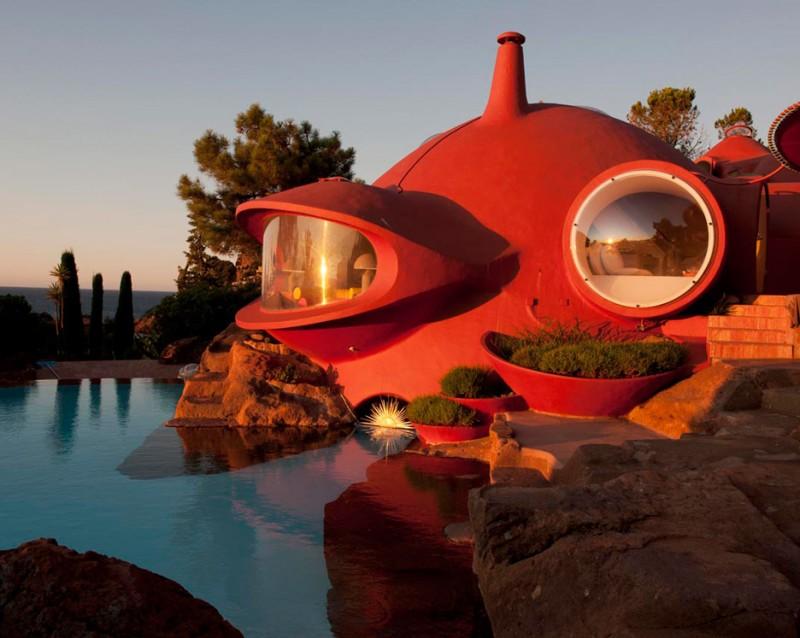 Дом-пузырь Maison Bernard от Антти Ловаг