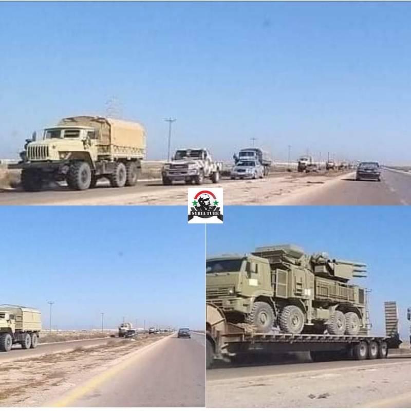 Ответ на ультиматум Анкары: в ливийский Сирт перебрасывают ЗРК «Панцирь-С»