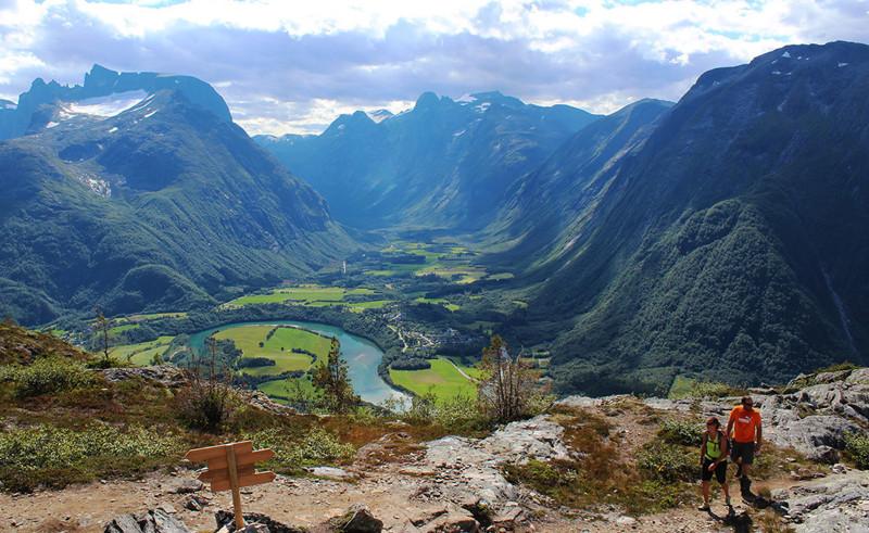 Ромсналь, Норвегия долина, природа, факты
