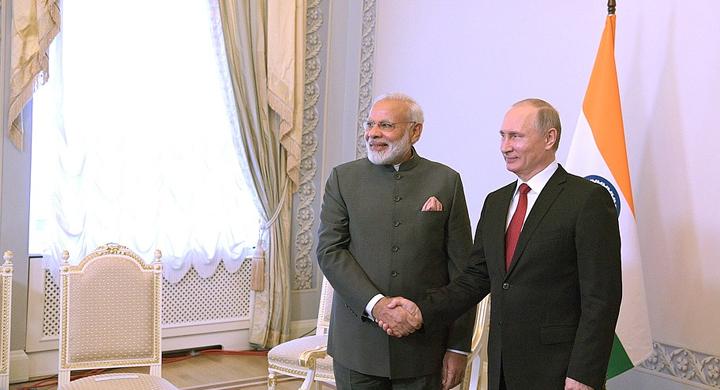 Пресс-конференция Владимира Путина и Нарендры Моди по итогу переговоров