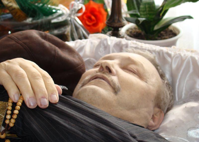 Человек осознает, что умер