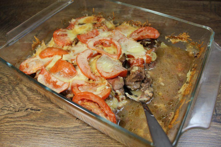 Сочная и очень нежная запеканка. Любимый рецепт приготовления куриной печени