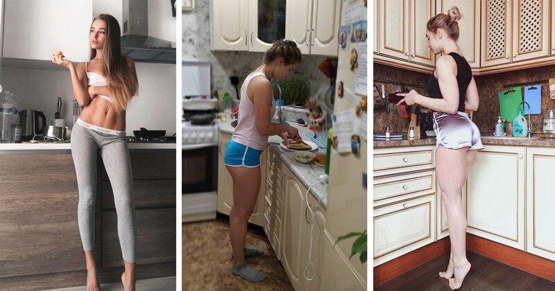 Борщ, прости: девушки, которым простительно готовить невкусно (22 фото)
