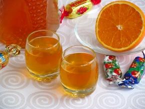 Спиртные напитки. Апельсиновый ликёр