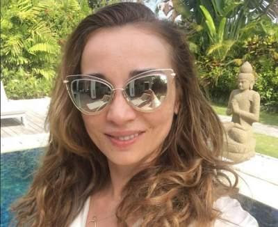 Секс-бомба Анфиса Чехова показала на Бали свой пупок, целлюлит и жирок