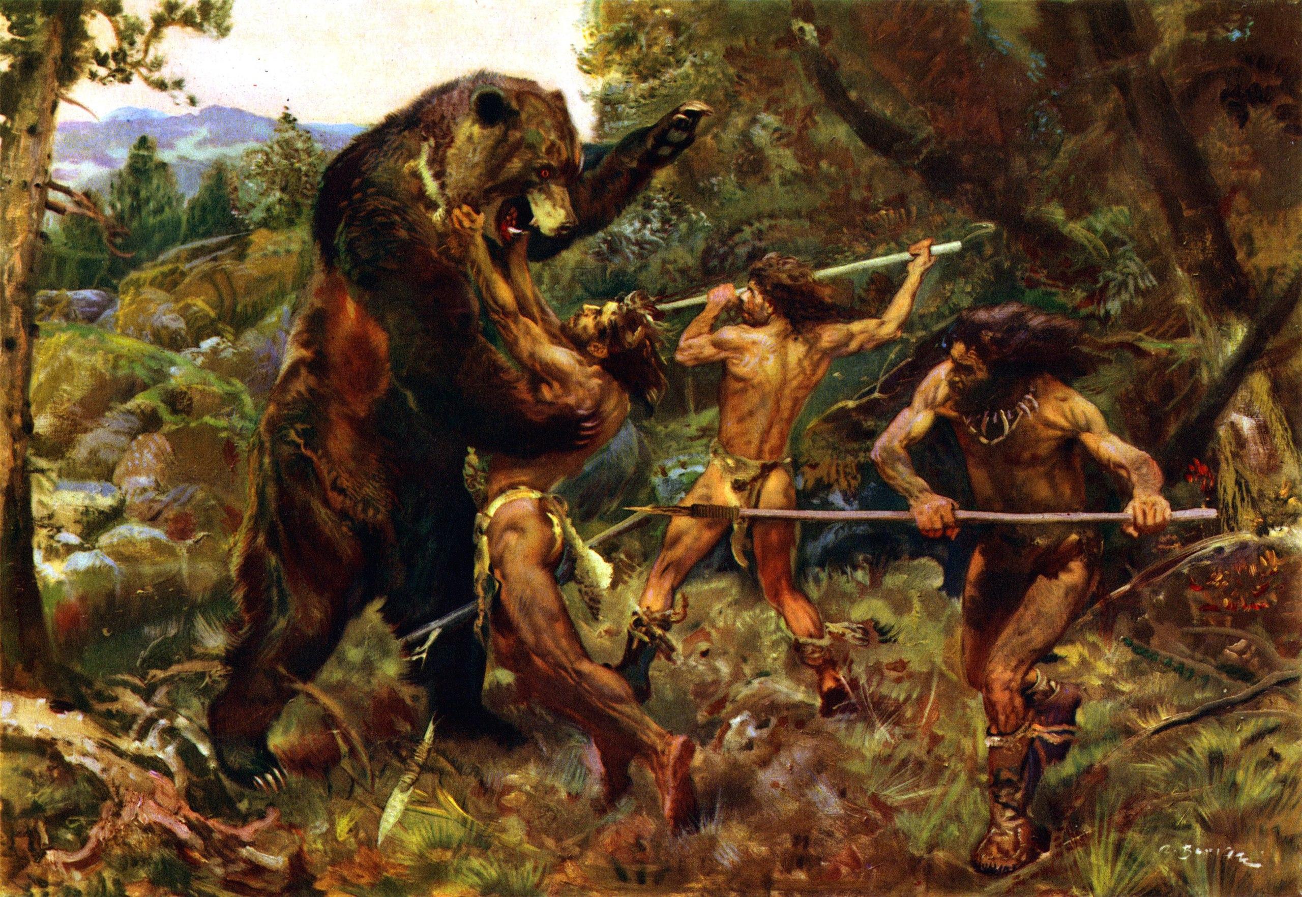 охота древнего человека картинки частности, том