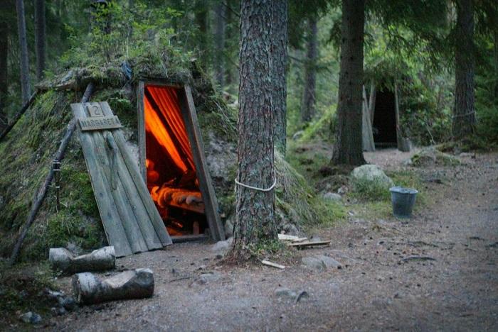 Поближе к природе: самый простой отель в лесу