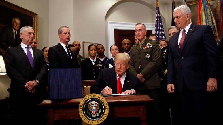 Liberty Nation: новый военный бюджет поможет США нажить ещё больше врагов