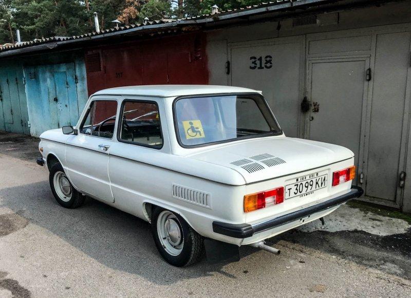 За 26 лет автомобиль проехал всего 107 километров! ЗАЗ 968, авто, автомобили, заз, запорожец, капсула времени, ретро авто, янгтаймер
