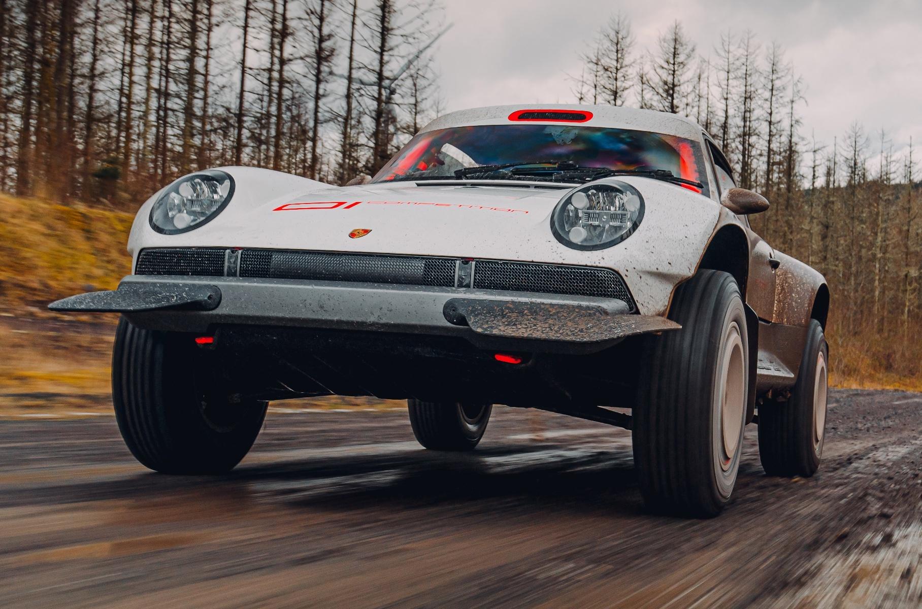 Видео: самый экстремальный Porsche 911 в движении Новости