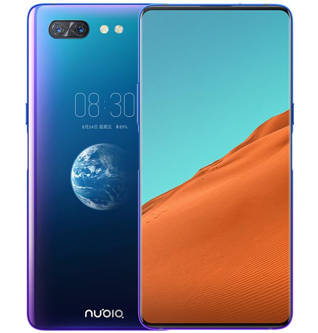 Представлен смартфон Nubia X с двумя полноценными дисплеями