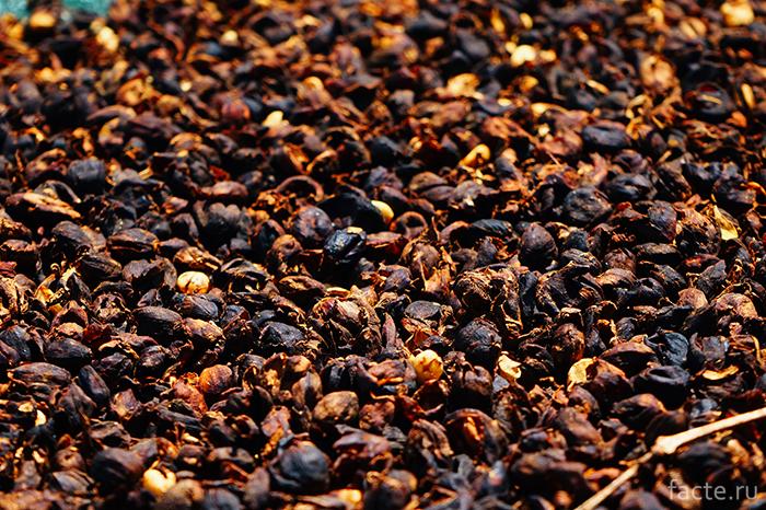 Кожура кофейных зерен