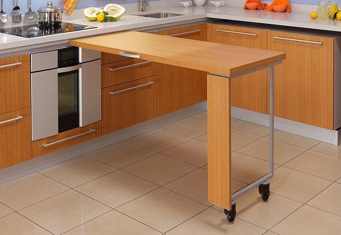 Барная стойка в хрущевке: блажь или необходимость барная стойка,гостиная,интерьер и дизайн,кухня,хрущевка