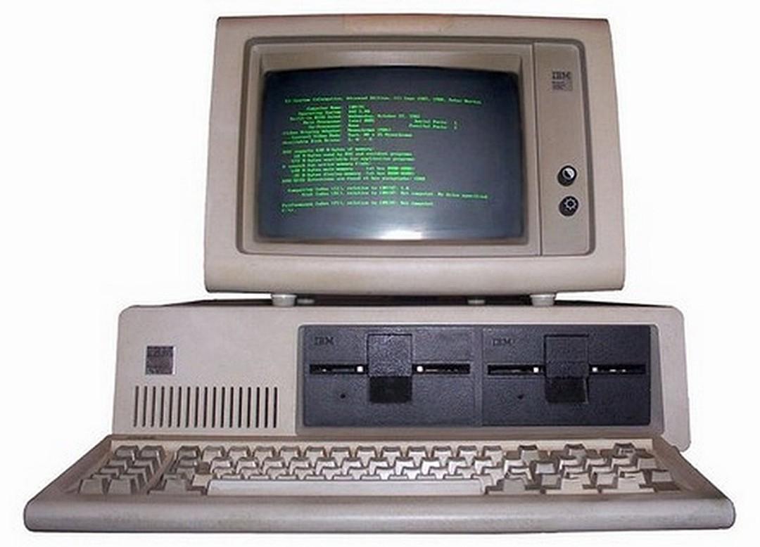 Первый ПК IBM.