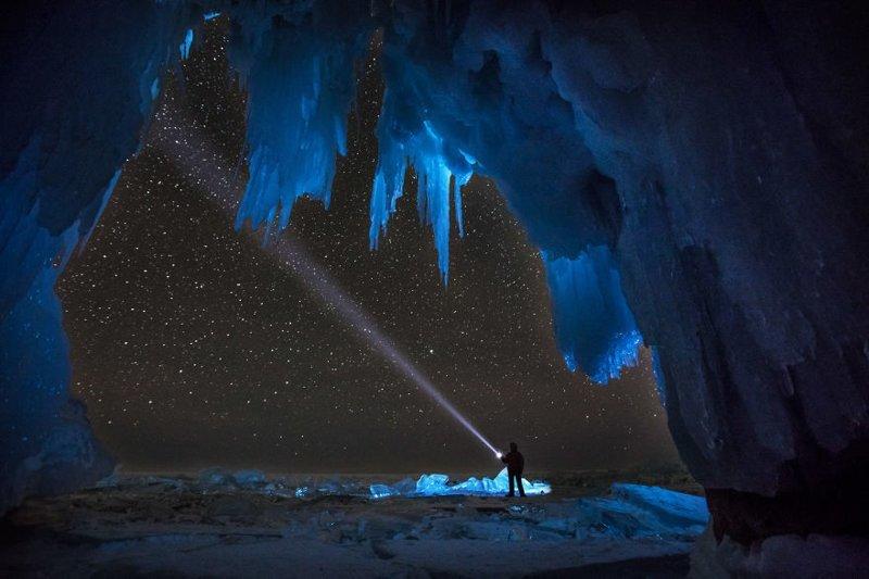 Ледяная пещера Зимняя сказка, байкал, зима, красота, лед, снег, фото, фоторепортаж