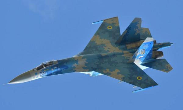 На Украине потерпел крушение Су-27