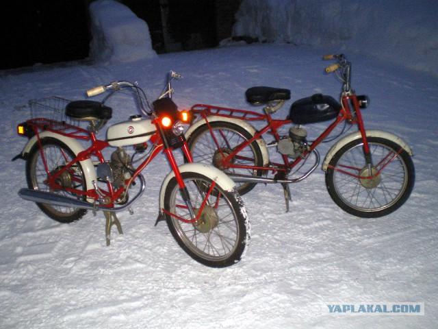"""Капсула Времени: Новый мопед """"Riga-13"""" 1991г.в."""