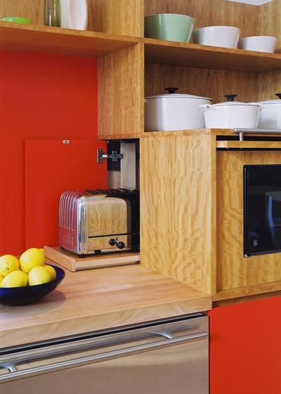 Модернизм Кухня by Hulburd Design