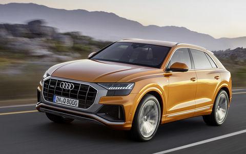 Новый Audi Q8: когда восемь меньше семи