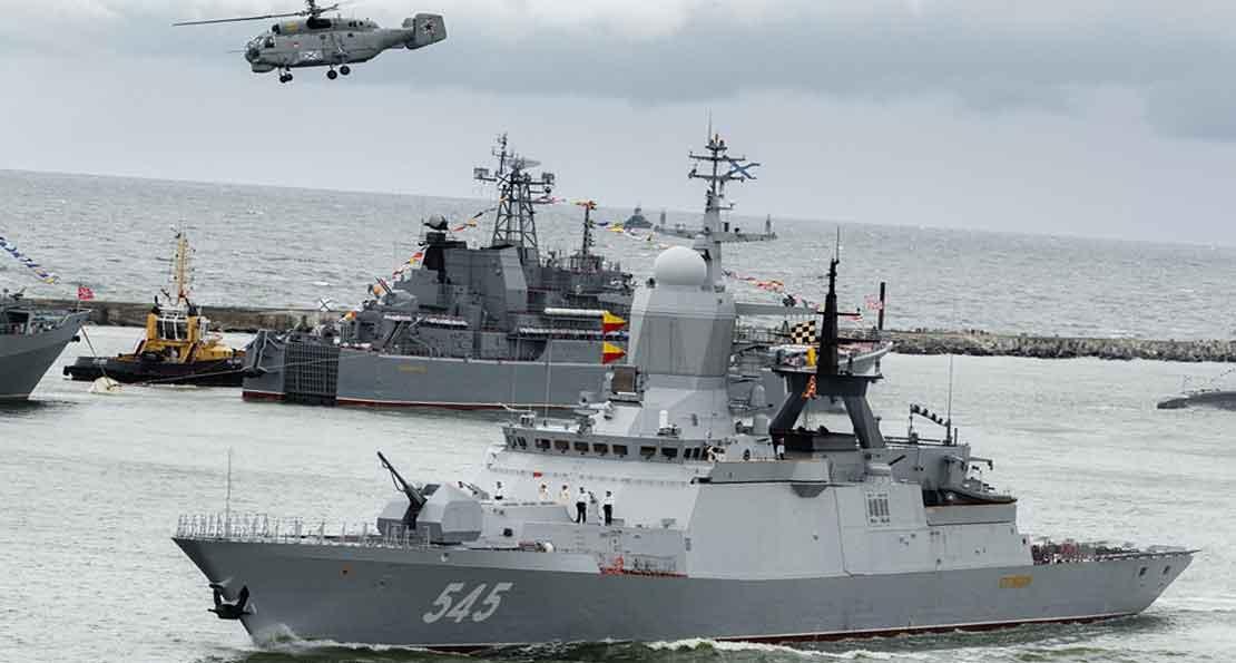 Как модернизируется главная база Балтийского флота вмф