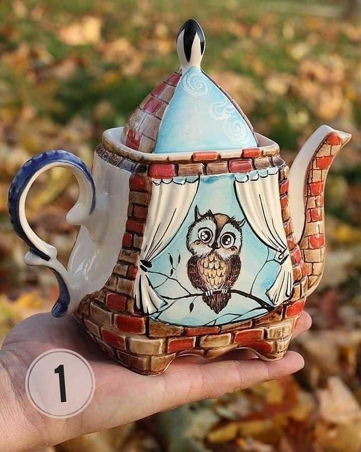 Симпатичные чайники, а вам какой понравился?