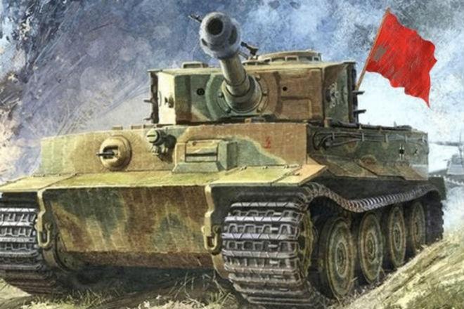 История про то, как цыган-разведчик немецкий танк угнал великая отечественная война,вторая мировая война,Пространство,разведка,танк