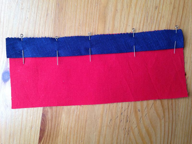 3 способа пришить косую бейку