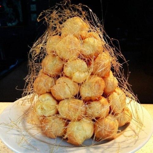 Крокембуш - эффектный десерт