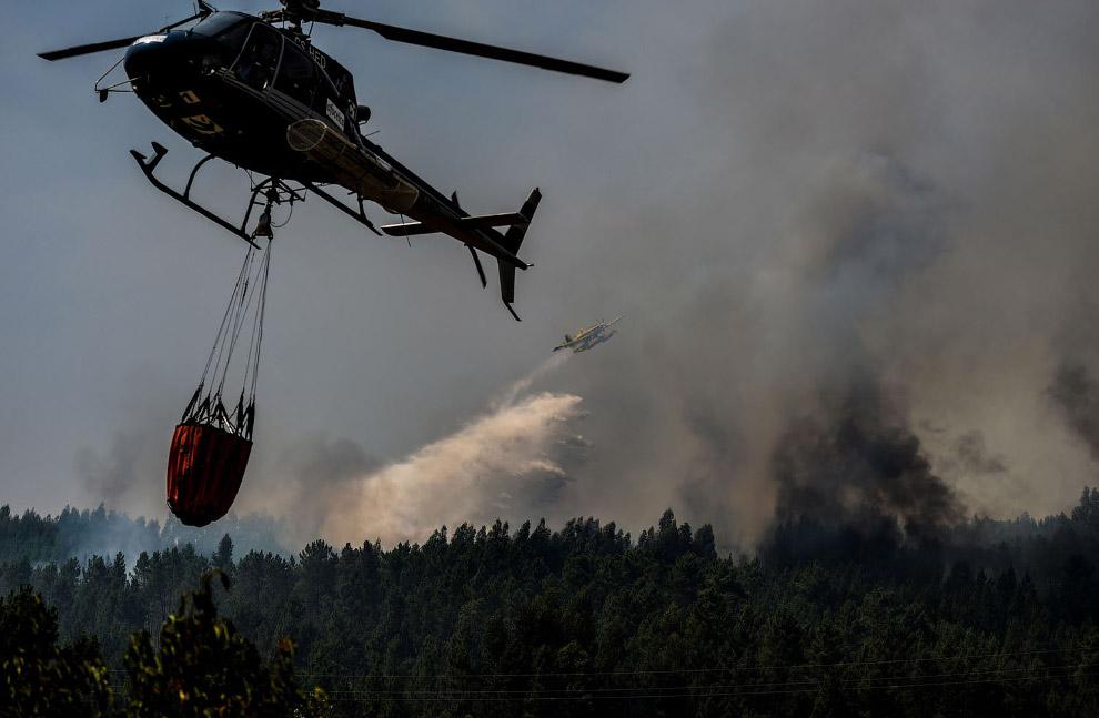 Пожарный вертолет
