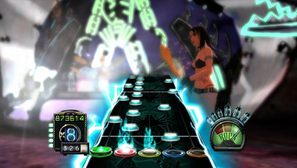 Guitar Hero 3 Dragonforce: Through fire and flames на эксперте