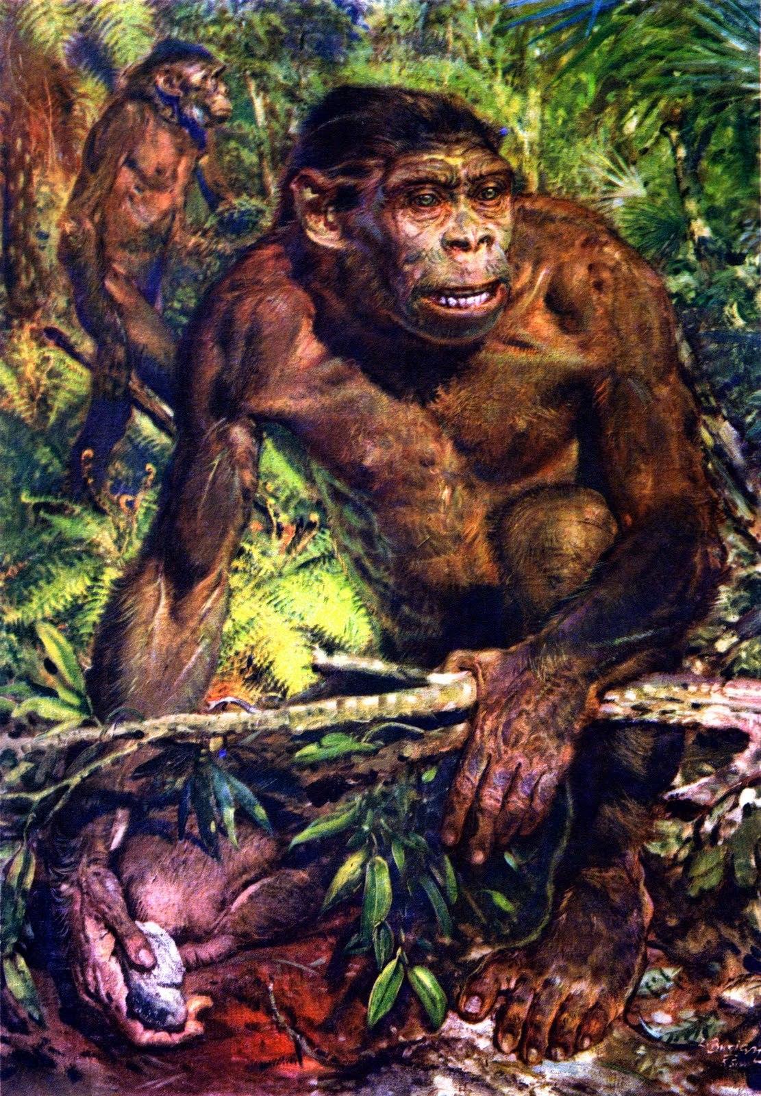 Картинки как выглядел древний человек