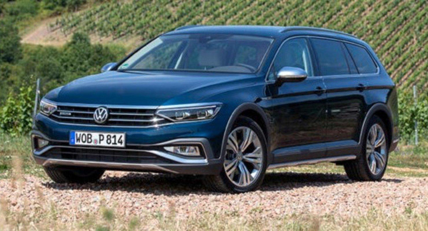 Volkswagen представил в России новый универсал Passat Alltrack Автомобили