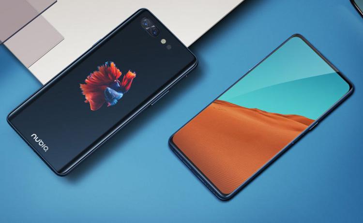 Представлен смартфон Nubia X с двумя полноценными дисплеями смартфон, nubia x