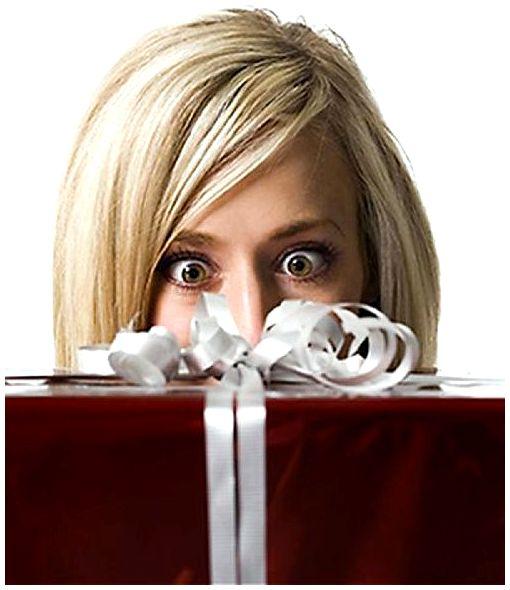 Подарок как искупление интрижки.