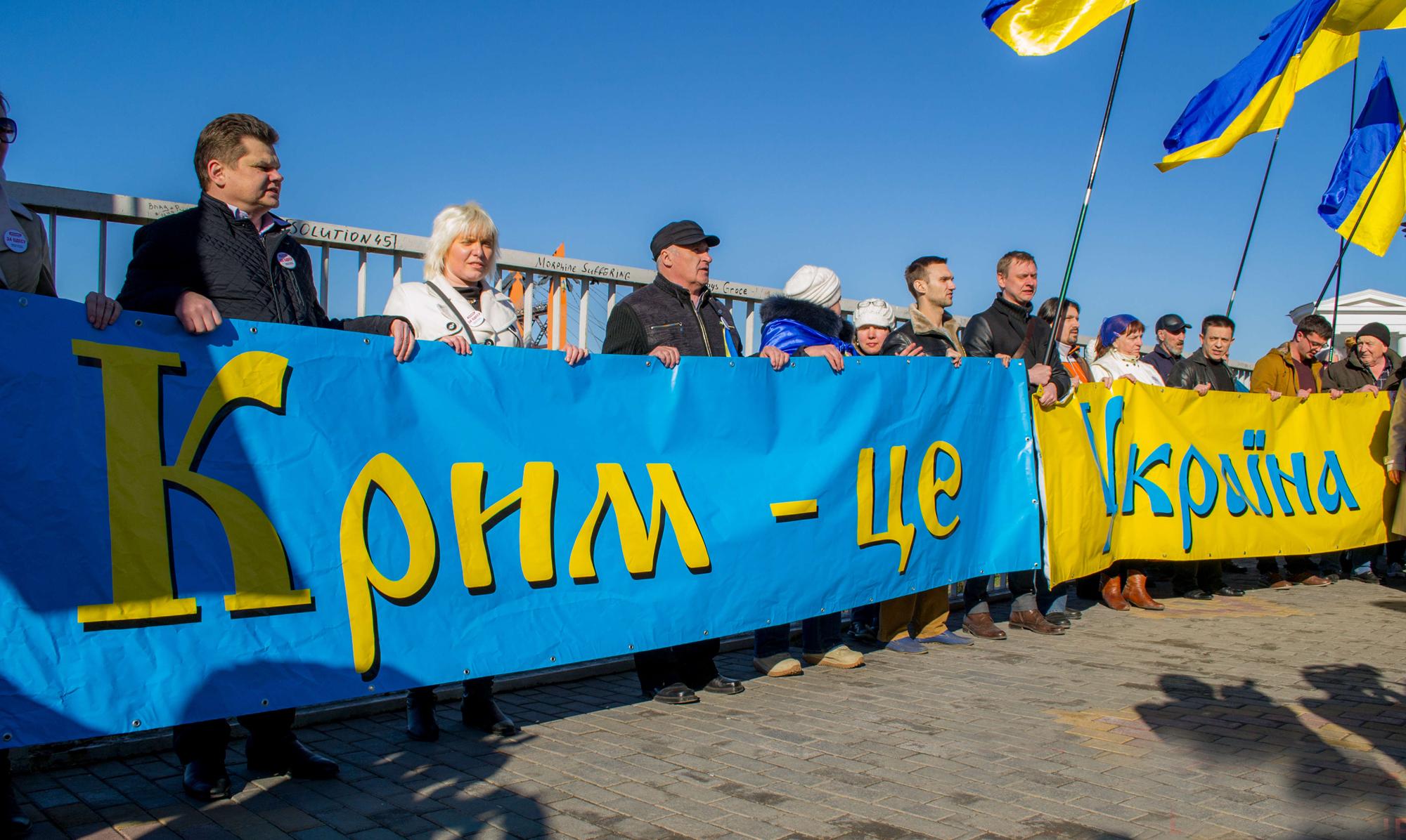 В Крыму будут говорить на украинском и почитать памятники Бандере – новый законопроект внесён в Раду