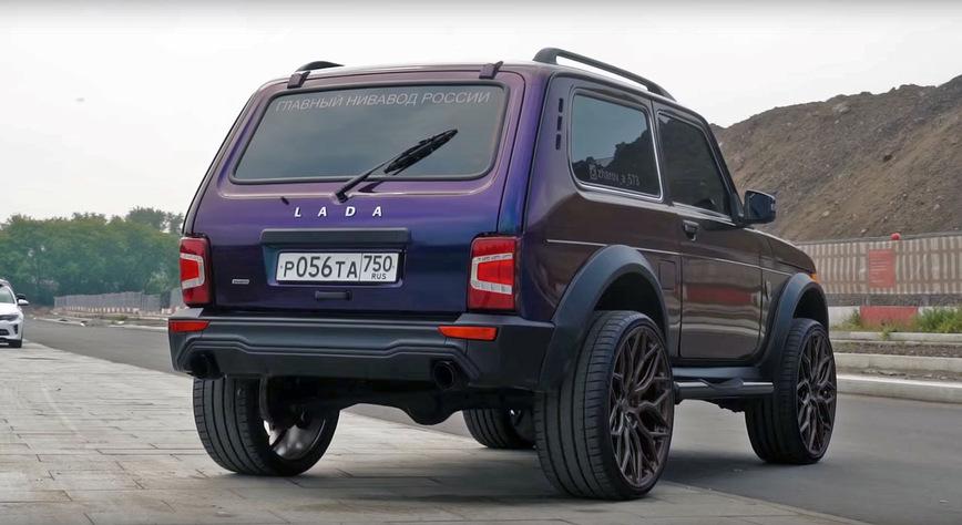Самая дорогая «Нива» в России за 2 млн рублей принадлежит 15-летнему мажору автомобили,видео,Россия