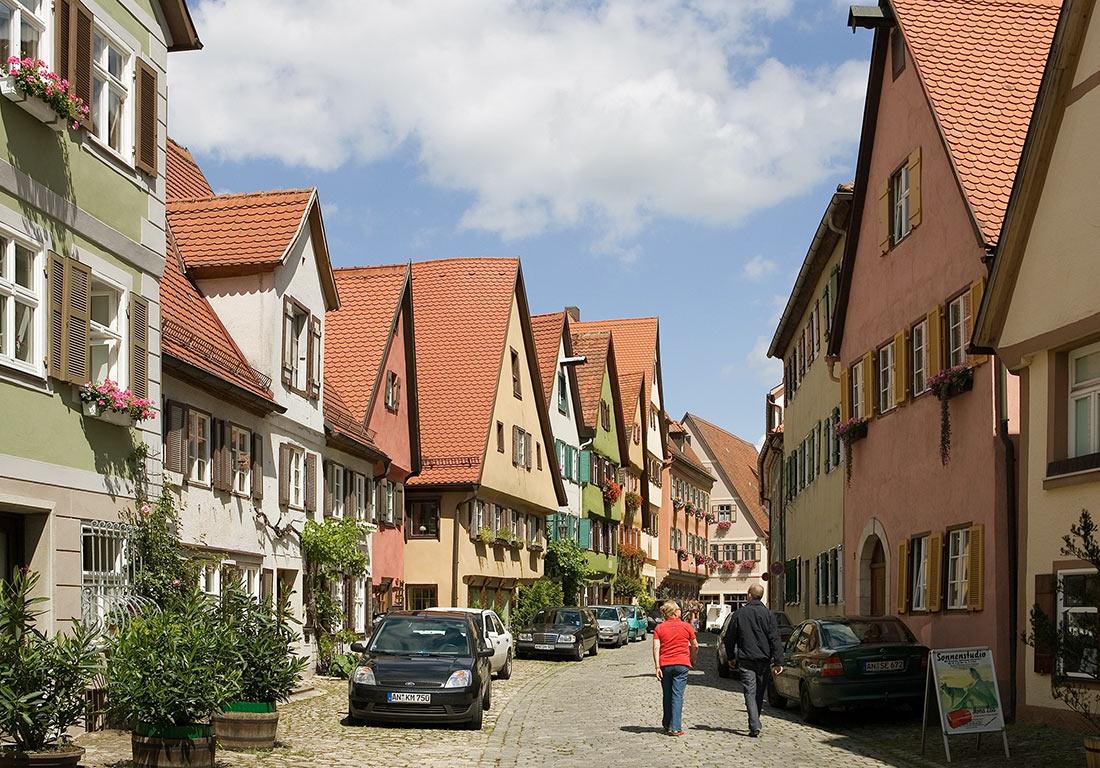 Динкельсбюль: традиционный старинный городок на границе Баварии и Баден-Вюртемберга Германия,отдых,путешествие,страны,туризм,турист