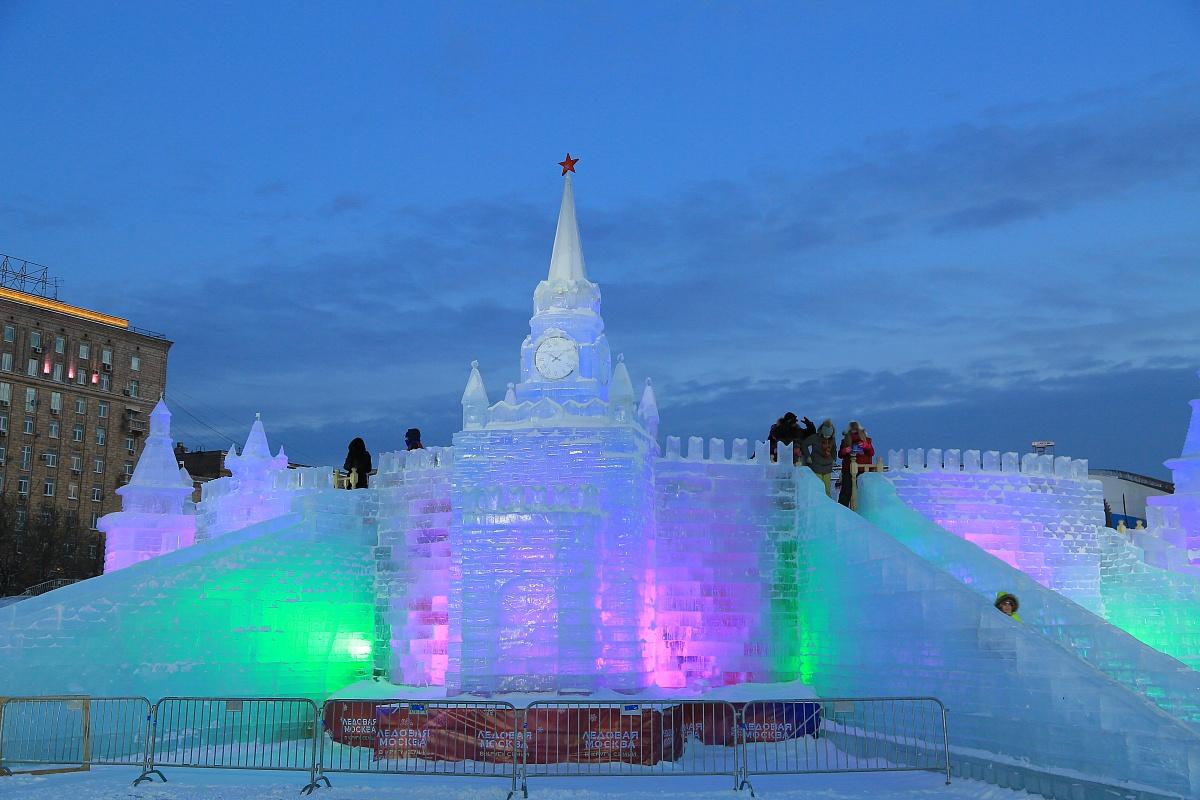 котлеты поклонная гора ледяные скульптуры картинки очень приятной