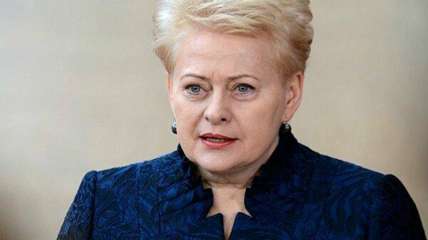 Грибаускайте заявила, что Евросоюз должен Литве, она недовольна снижением финансирования