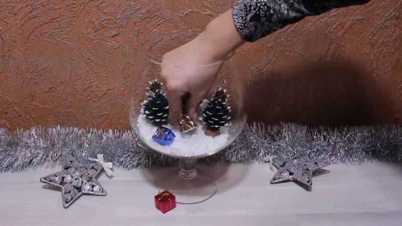 Так шишки вы еще не использовали! Удивительный новогодний декор интерьер,рукоделие,своими руками,сделай сам