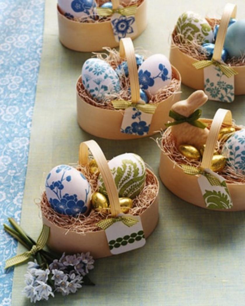 Радостный пасхальный декор: 58 милых идей интерьер