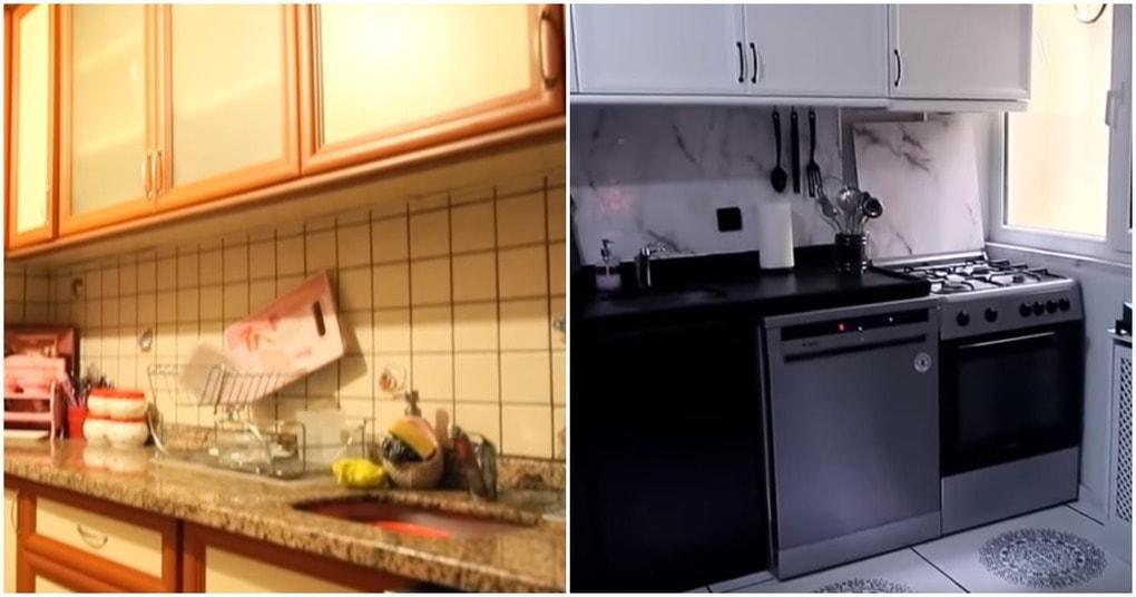 Чудесное преображение кухни: отменный результат при минимуме вложений